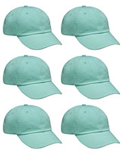 Adams AD969 Unisex Optimum Pigt Dyed-Cap 6-Pack at GotApparel