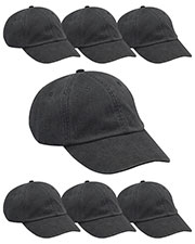 Adams AD969 Unisex Optimum Pigt Dyed-Cap 7-Pack at GotApparel