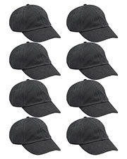 Adams AD969 Unisex Optimum Pigt Dyed-Cap 8-Pack at GotApparel