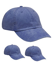 Adams AD969 Unisex Optimum Pigt Dyed-Cap 3-Pack at GotApparel