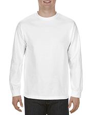 Alstyle AL1304 Men 6.0 oz., 100% Cotton Long-Sleeve T-Shirt at GotApparel