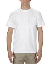 Alstyle AL1905 Men 5.1 oz., 100% Soft Spun Cotton Pocket T-Shirt at GotApparel