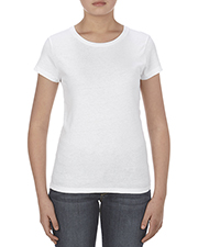 Alstyle AL2562 Women Missy 4.3 oz., Ringspun Cotton T-Shirt at GotApparel