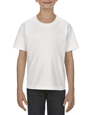 Alstyle AL3381 Boys Youth 6.0 oz., 100% Cotton T-Shirt at GotApparel