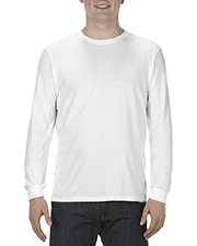 Alstyle AL5304 Men 4.3 oz., Ringspun Cotton Long-Sleeve T-Shirt at GotApparel