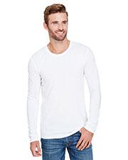 Anvil AN6740 Men Tri-Blend Long-Sleeve T-Shirt at GotApparel