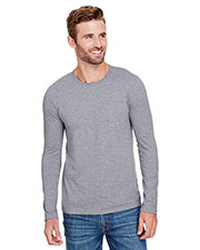 Anvil AN6740 Men Tri-Blend Long-Sleeve T-Shirt at GotApparel