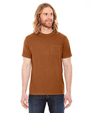 Authentic Pigment AP201 Men XtraFine Pocket T-Shirt at GotApparel