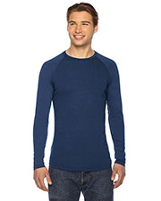 Authentic Pigment AP203 Men True Spirit Raglan T-Shirt at GotApparel