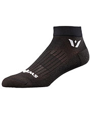 Swiftwick ASPIREONE 1 Pair Pack Ankle Sock at GotApparel