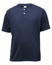 Soffe B206 Boys Youth 2-Button Henley 50/50 at GotApparel