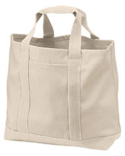 Port Authority B400  Port & Company® - 2-Tone Shopping Tote. at GotApparel