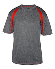Badger 4340 Men Fusion Short-Sleeve Tee at GotApparel
