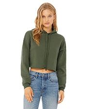 Cropped Fleece Hoodie at GotApparel