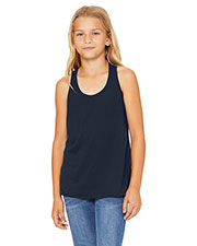 Bella + Canvas B8800Y Girls Flowy Racerback Tank at GotApparel