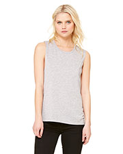 Bella + Canvas B8803 Women Flowy Scoop Muscle Tank at GotApparel