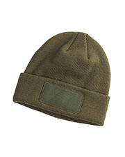 Big Accessories / BAGedge BA527 Men Patch Beanie at GotApparel