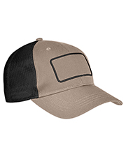 Big Accessories BA656T Patch Trucker Cap at GotApparel