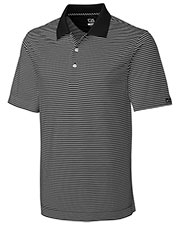 Cutter & Buck BCK00332 Men Drytec Trevor Stripe at GotApparel