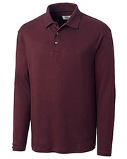 Cutter & Buck BCK00742 Men Long Sleeve Brokers Bay Polo Fleece Outerwear Jackets at GotApparel