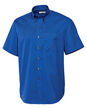 Cutter & Buck BCW01621 Men S/S Epic Easy Care Fine Twill at GotApparel