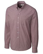 Cutter & Buck BCW01878 Men Long Sleeve Epic Easy Care Gingham at GotApparel