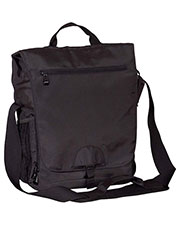 Big Accessories / BAGedge BE043 Unisex Vertical Messenger Tech Bag at GotApparel