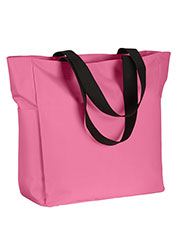 Big Accessories / BAGedge BE080 Polyester Zip Tote at GotApparel