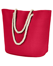 BAGedge BE256 Polyester Canvas Rope Tote at GotApparel