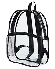 BAGedge BE259 Clear PVC Backpack at GotApparel