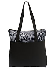 Port Authority BG407 Unisex ZipTop Convention Tote at GotApparel