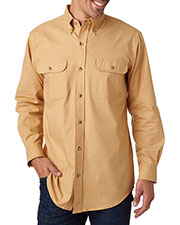 Backpacker BP7005T Men Tall Solid Flannel at GotApparel