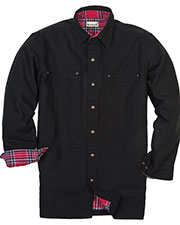 Backpacker BP7006T Men Tall Canvas Shirt Jacket with Flannel Lining at GotApparel