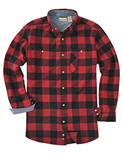 Backpacker BP7040 Men Yarn-Dyed Long-Sleeve Brushed Flannel at GotApparel