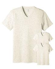 Bella + Canvas 3415C Unisex Tri-Blend Short-Sleeve V-Neck Tee 3-Pack at GotApparel