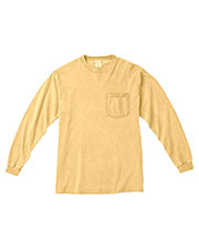 Comfort Colors C4410 Men 6.1 Oz. Long-Sleeve Pocket T-Shirt at GotApparel