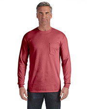 Comfort Colors C4410 Men 6.1 oz. LongSleeve Pocket T-Shirt at GotApparel