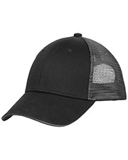 Port Authority C818 Men Double Mesh Snapback Sandwich Bill Cap at GotApparel
