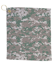 Pro Towels CAM18CG Small Camo Golf Towel at GotApparel