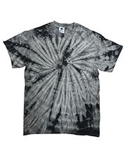 Tie-Dye CD101 Men 5.4 oz 100% Cotton Spider T-Shirt at GotApparel