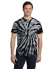 Tie-Dye CD110 Men 5.4 oz., 100% Cotton Twist d T-Shirt at GotApparel