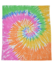 Tie-Dye CD6100 Throw Blanket at GotApparel