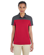 Ash City CE101W  Ladies' Balance Colorblock Performance Piqué Polo at GotApparel