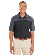 Ash City CE101  Men's Balance Colorblock Performance Piqué Polo at GotApparel