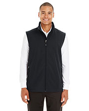 Ash City CE701  Men's Cruise Two-Layer Fleece Bonded Soft Shell Vest at GotApparel