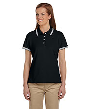 Chestnut Hill CH113W Women's Tipped Performance Plus Pique Polo at GotApparel