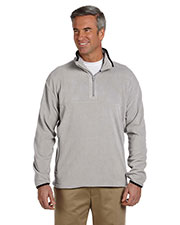 Chestnut Hill CH910 Men Microfleece Quarter-Zip Pullover at GotApparel