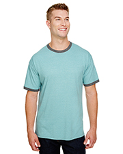 Custom Embroidered Champion CP65 Adult 5.3 oz Triblend Ringer T-Shirt at GotApparel