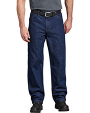 Dickies CR393 Unisex Industrial Relaxed Fit Denim Jean Pant at GotApparel