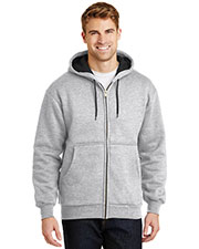 Cornerstone CS620 Men Heavyweight Full-Zip Hooded Sweatshirt With Thermal Lining at GotApparel